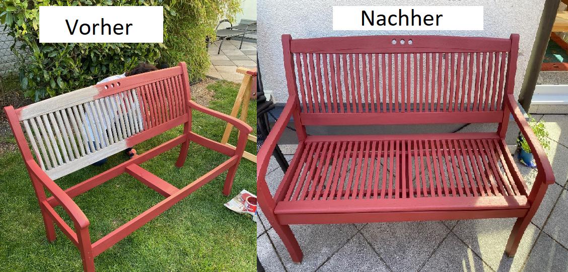 Vorher-Nachher-Bank